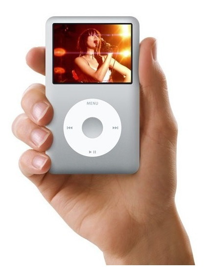Apple iPod Classic 160gb Silver 7ma Generation