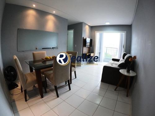 Apartamento Mobiliado De 02 Quartos Com Elevador Em Guarapari-es - Ap00650 - 68079167