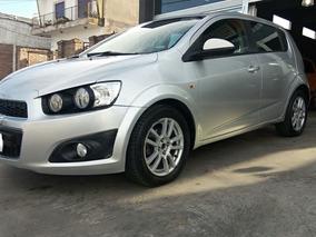 Chevrolet Sonic 1.6 Lt Año 2012 Nafta Financio -dasautos-