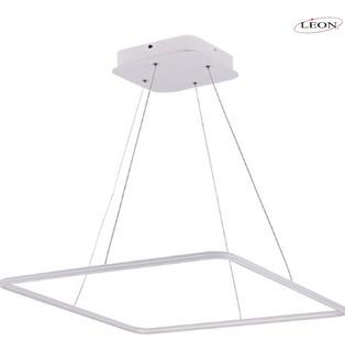 Candil De Led Colgante Modernista 40w Leon (blanco U Oro)