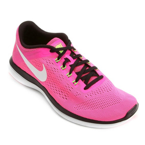 Tênis Nike Flex 2016 Rn Feminino Rosa Original