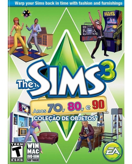 The Sims 3 Anos 70 80 E 90 Pc Game Original
