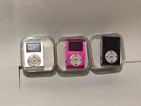 Kit Com 3 Mp3 Player Frete Grátis Música Leve E Compacto