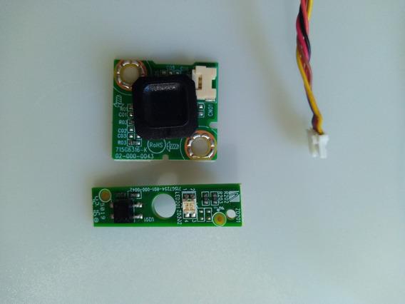 Sensor + Botão Power Tv Aoc Le32s5760