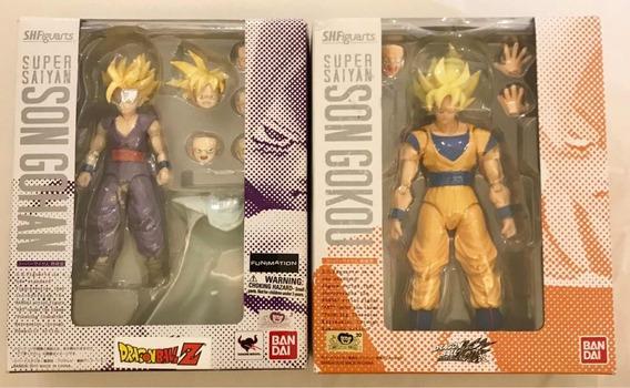 S.h. Figuarts Goku + Gohan (juntos)