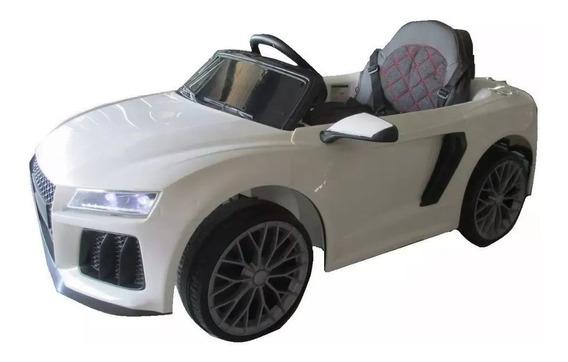 Auto Bateria Audi Gvt 12v Control Remoto Luces Mp3 Babymovil