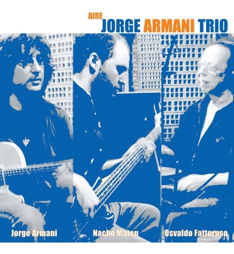 Jorge Armani - Aire - Cd