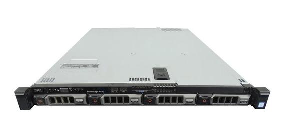 Servidor Dell Poweredge R430 Com Trilhos Para Rack Seminovo