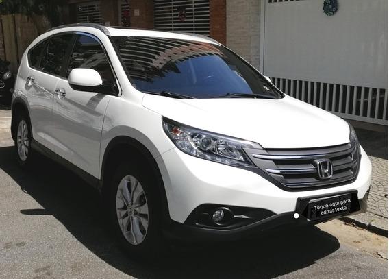 Honda Crv Exl 4x4 2012 Branco, Ipva Pago