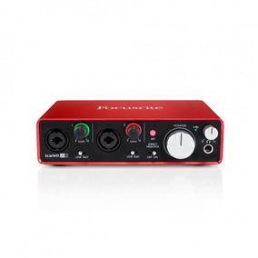 Interface De Áudio Scarlett 2i2 2nd Geração - Focusrite