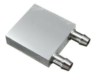 Dissipador De Calor A Água Em Aluminio P/ Pastilha Peltier