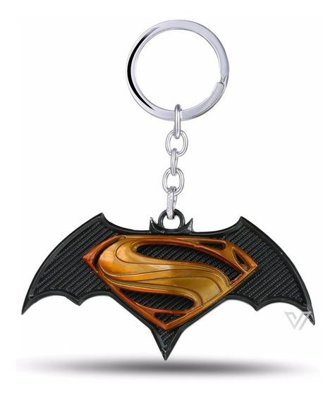 Chaveiro Batman Vs Superman De Metal Dc Comics Pronta Entega