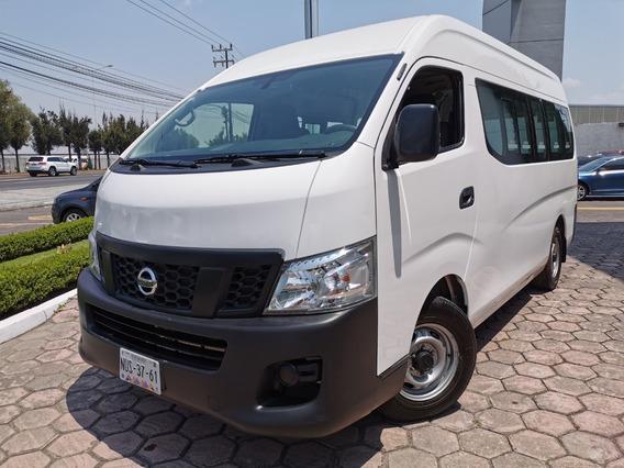 Nissan Urvan Pasajeros 2017