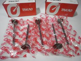 Válvula De Escape 6mm 05 Peças Para Volvo S60 E V70 2.0 16v