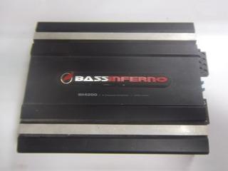 Planta De Sonidos 4 Canales Bass Inferno B30* (100)