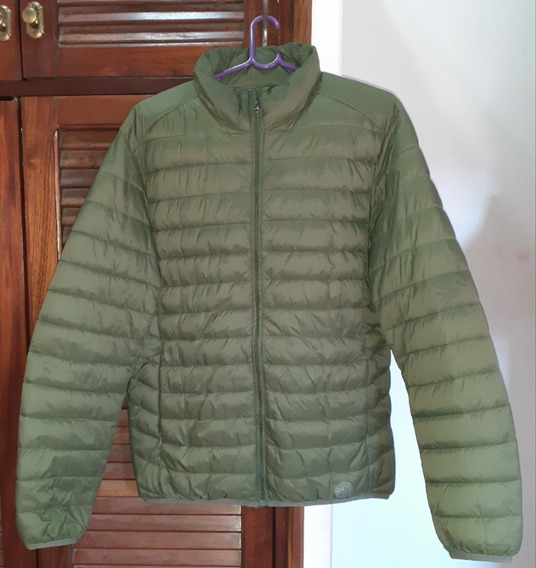 Campera Inflable Raiders Verde