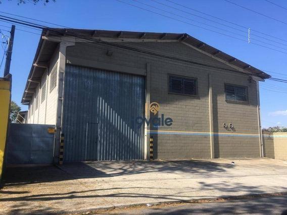 Galpão Para Alugar, 430 M² Por R$ 7.000,00/mês - Palmeiras De São José - São José Dos Campos/sp - Ga0030