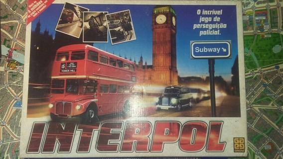Jogo Tabuleiro Interpol Inglaterra Grow (no Estado Fotos)