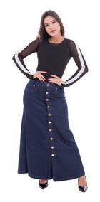 Promoção Combo 2 Saias Longa Jeans Frete/fácil