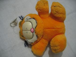 Garfield El Peluche Original Muy Bueno De 12 Cm Para Colgar
