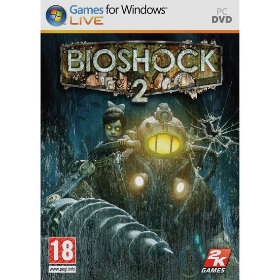 Bioshock 2 Pc Mídia Física Novo Lacrado