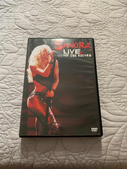 Dvd + Cd Shakira - Live And Off The Record - Seminovo