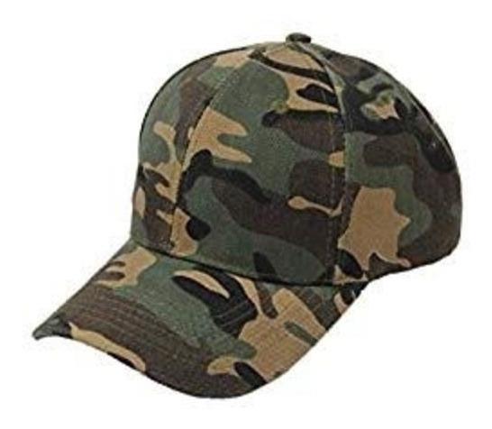 Gorra Tela Gruesa Tactica Militar Campismo Camuflage Hiking