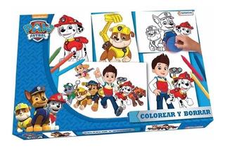 Colorear Y Borrar Laminas Tapimovil Paw Patrol 9984 (4517)