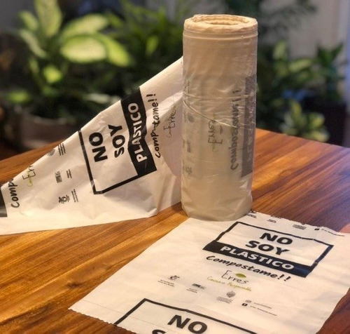 Bolsas 100% Biodegradables Compostables Arranque De 20x30