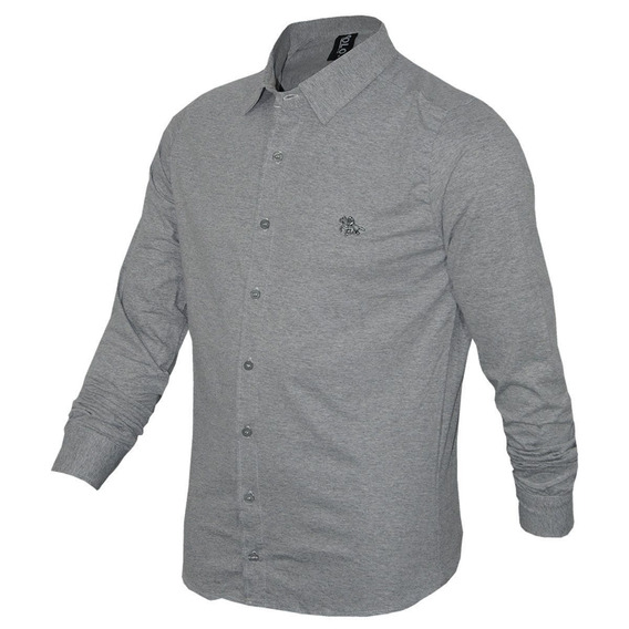 Camisa Polo Rg518 Com Logo Especial Em Metal Ref 17231