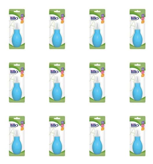 Lillo 654120 Aspirador Nasal Azul (kit C/12)