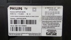 Cabo Lvds Tv Philips Mod 40pfg5109/78.