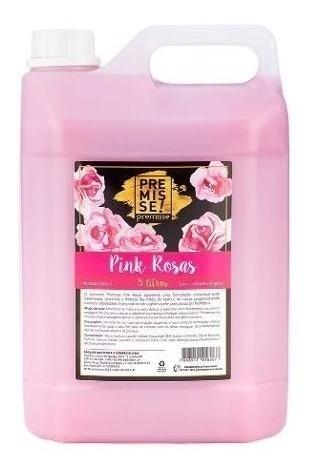 Sabonete Liquido Galão 5l Pink Rosas Mãos Premisse