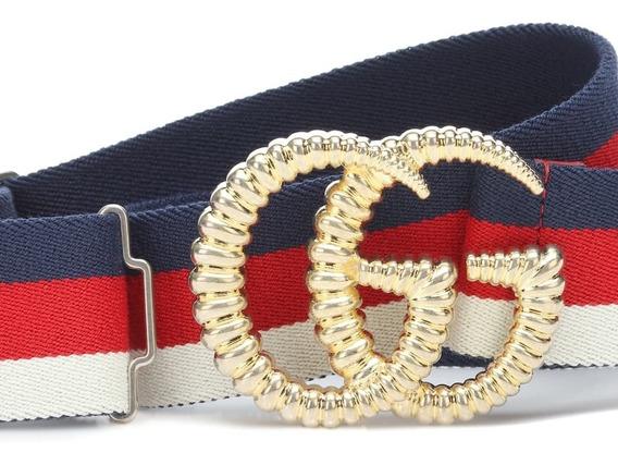 Cinturon Gucci Multicolor Para Mujer