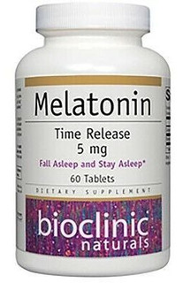 Bioclinic Naturals Melatonin Time Release 5mg 60t Bs0093