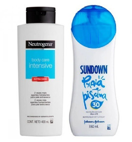 Sundown 30 Fps 350ml + Hidratante Neutrogena Body Care 400ml