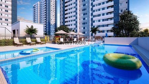 Apartamento A Venda 02 Quartos, Jardim Riacho, Contagem, Condomínio Reserva Das Flores - 683