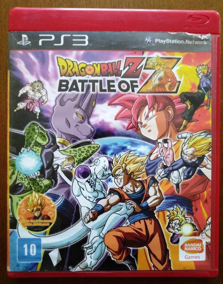 Dragon Ball Z - Battle Of Z Ps3 (seminovo)