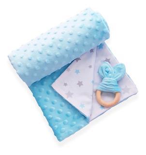 Manta Cobija Térmica Reversible Menta Baby Wrap Para Bebé