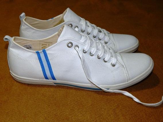 Tenis Lona Branco Spot Shoes - Tam: 43