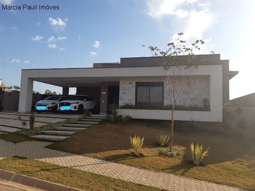 Imagem 1 de 30 de Casa Térrea Mobiliada A Venda Condomínio Terras Da Alvorada - Medeiros - Itupeva/sp. - Ca04358 - 69959105