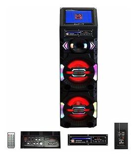 Parlante Mr. Dj Big Show 3-way Dual Portable Active Max Powe