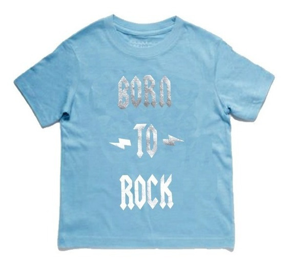 Born To Rock Playera