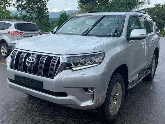 Toyota Prado Vxl Europea 3.0 Diesel Plateada Modelo 2019 0km