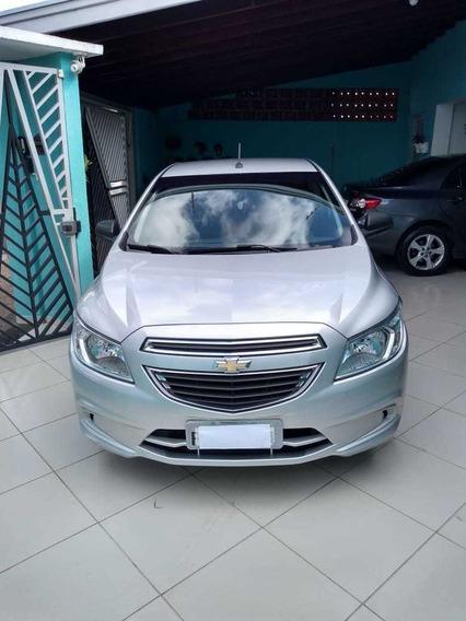 Chevrolet Ônix 1.0 2016 Prata 5 Portas