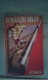 Livro Introducao Biblica J Cabral