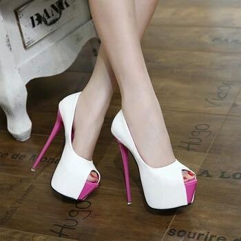 Sapato Salto Alto Plataforma Tam 34/40