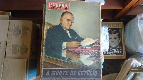 Mundo Ilustrado 83 - Bom Estado - A Morte De Getúlio - 09/54