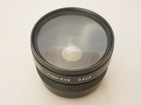 Lente Olho De Peixe 0.42x Canon Nikon Sony Diam. 49/52mm §§