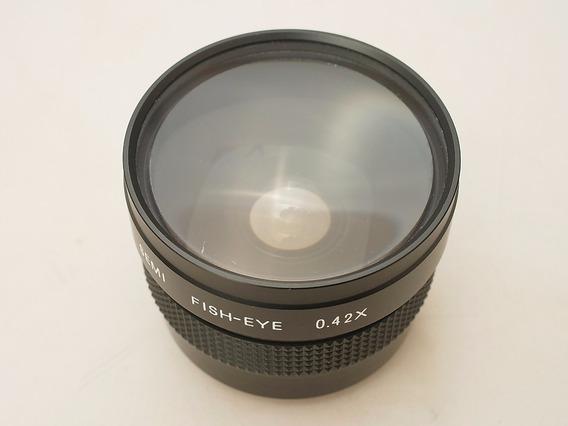 Baixou, Lente Olho De Peixe 0.42x Canon Nikon Sony 49/52mm